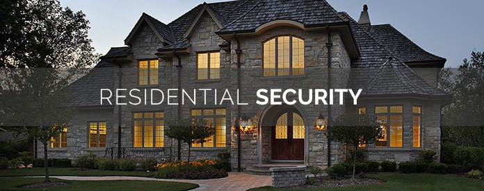residential security home at night-final