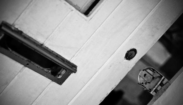 burglary, door that has been broken
