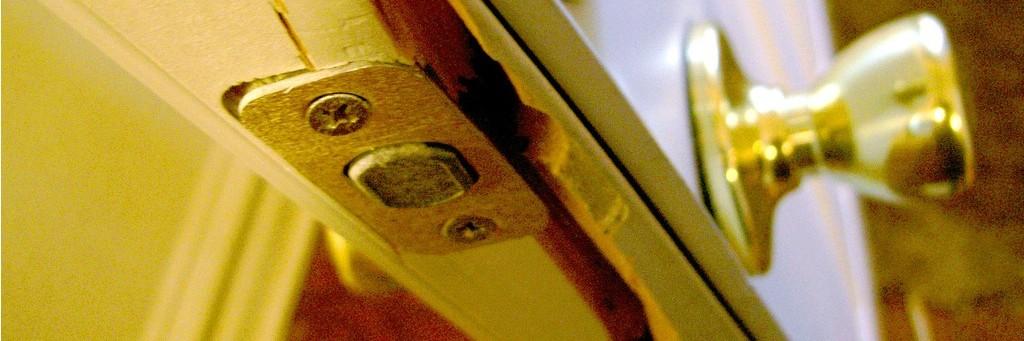burglary - broken door - home security