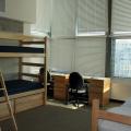 dorm room, security