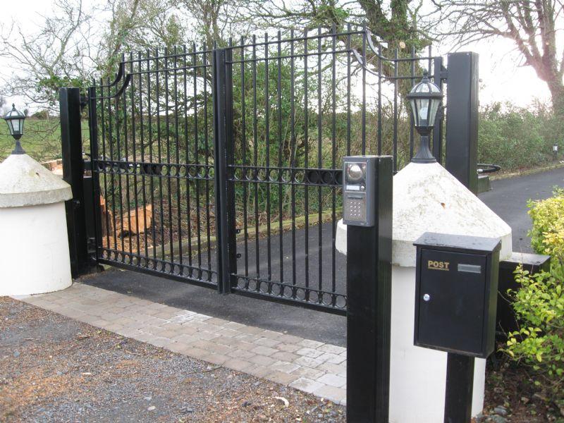 access control panel gate, fine sign permit